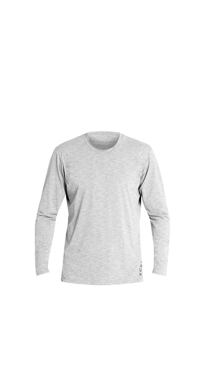 XCEL HEATHERED VENTX SOLID L/S icg MLM62619