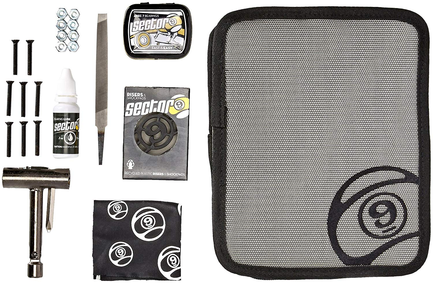 SECTOR 9 THE FIELD TOOL KIT grey