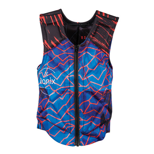 RONIX PARTY ATHLETIC CUT - REVERSIBLE IMPACT JACKET blue/red