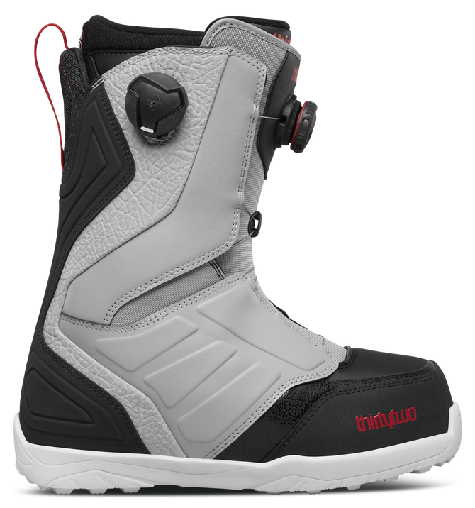 THIRTYTWO LASHED DOUBLE BOA grey/black/red 2018