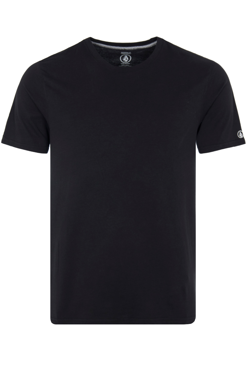 VOLCOM SOLID S/S TEE blk A5031807
