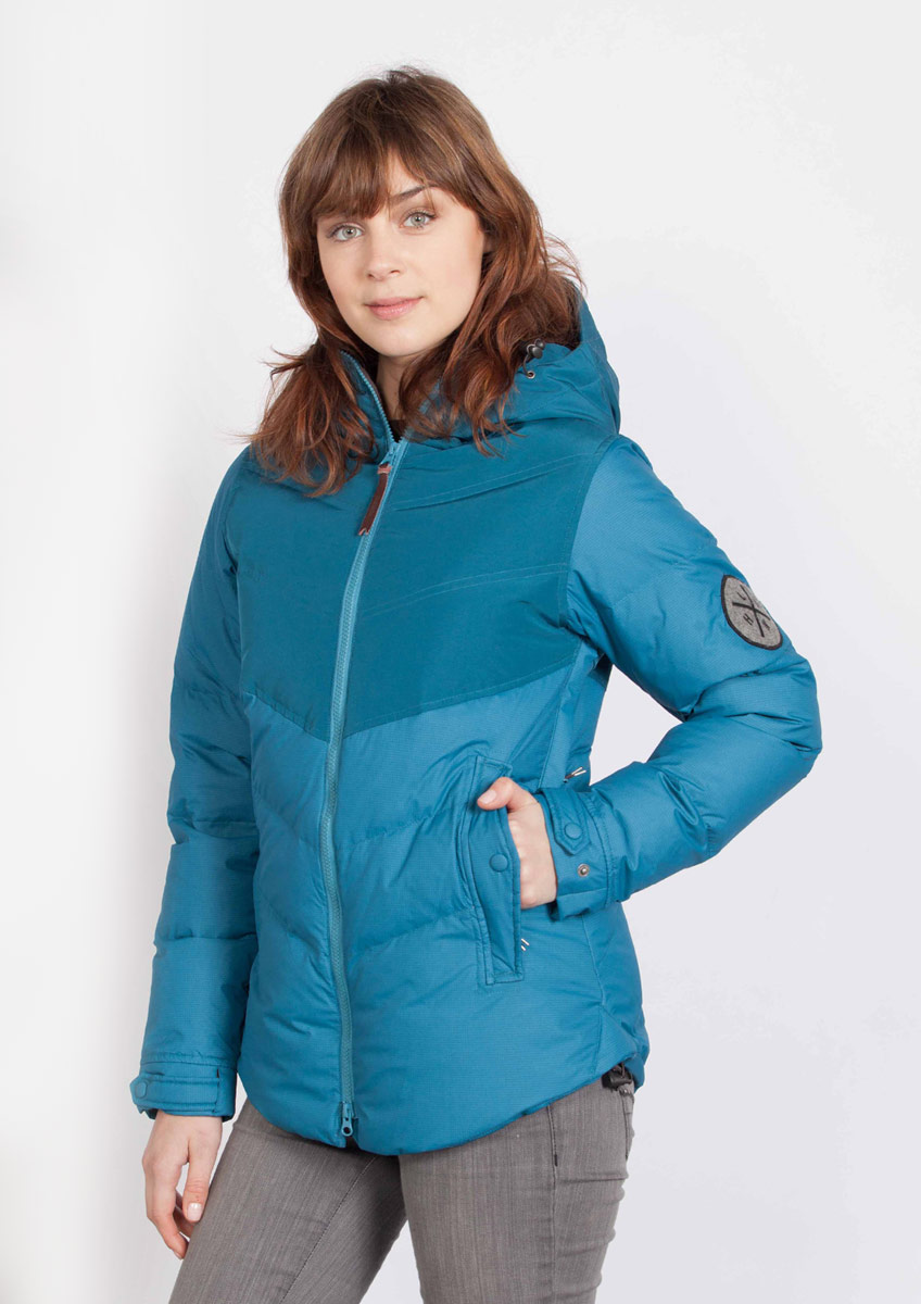 HOLDEN ESTELLE DOWN JACKET Pacific Blue 1120103